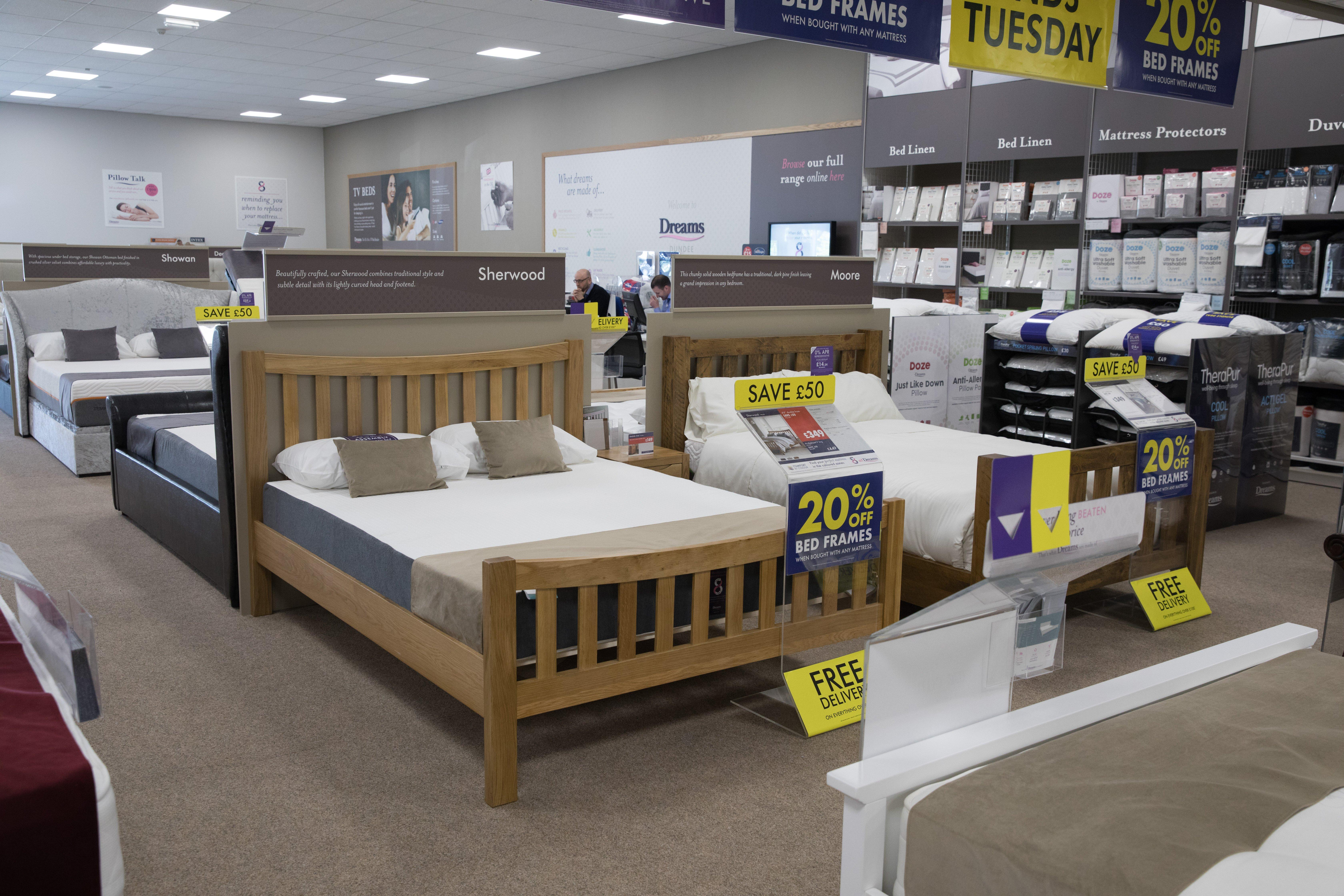 Dreams Store In Dundee Beds Mattresses Furniture Dreams