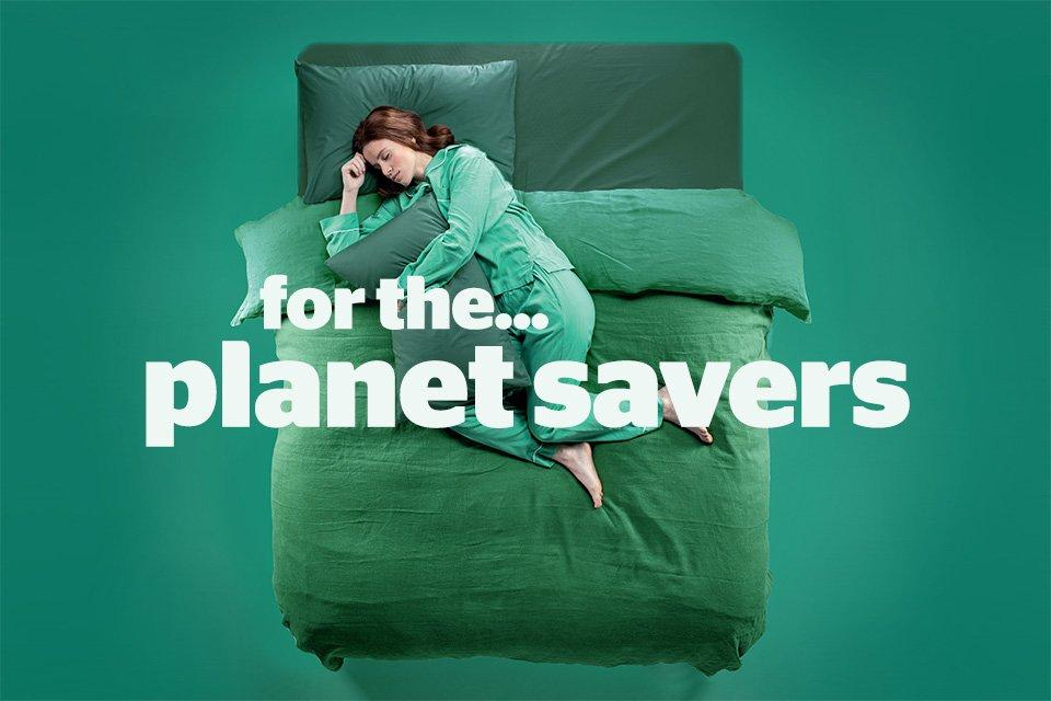 For the planet savers