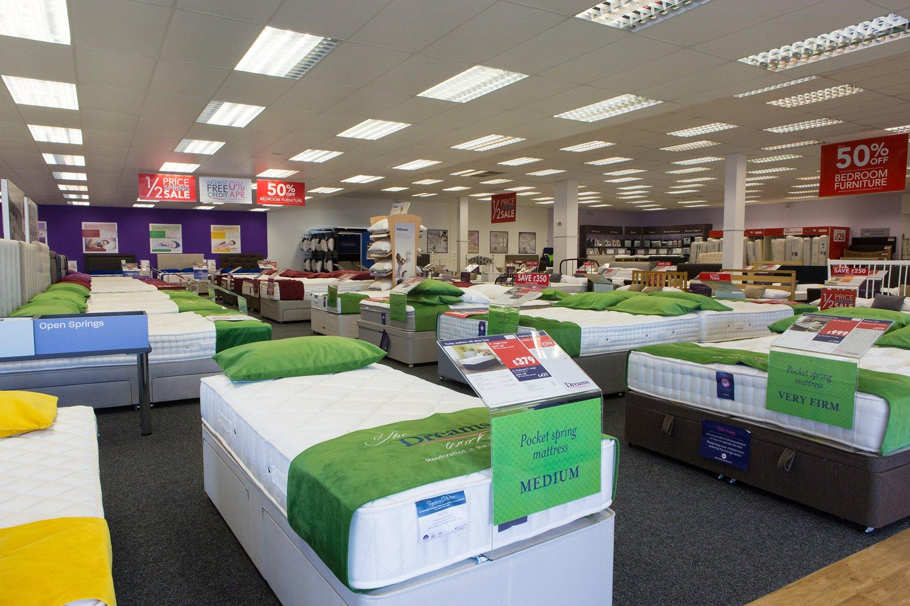 Dreams Store In Stoke On Trent Beds Mattresses Furniture Dreams