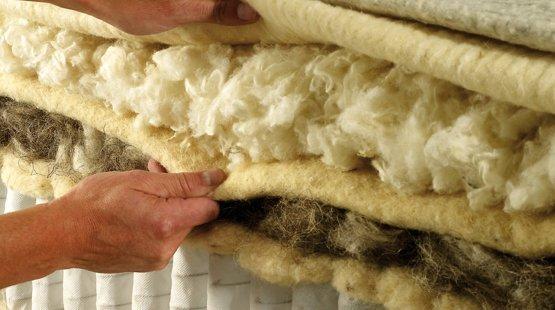 Hypnos mattress layers