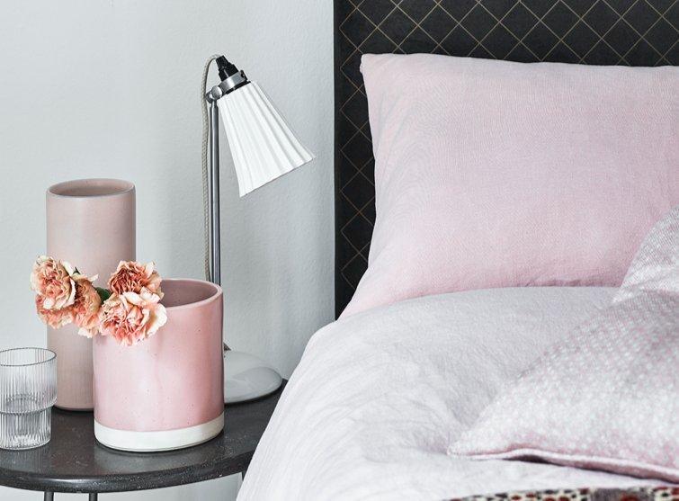Ren velvet upholstered bed frame