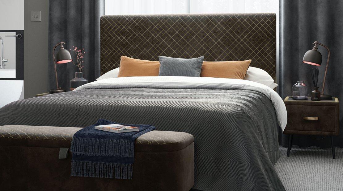 Ren upholstered bed frame