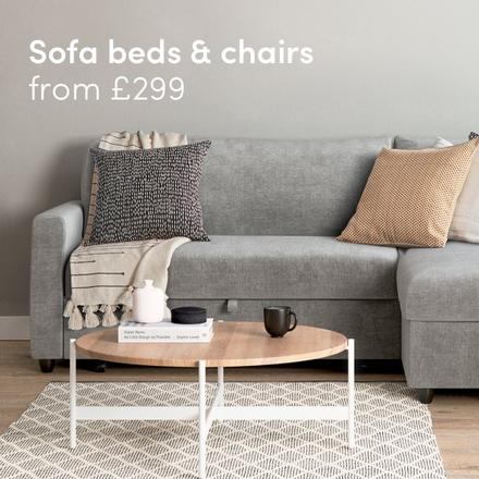 Sofa beds & chairs from £299